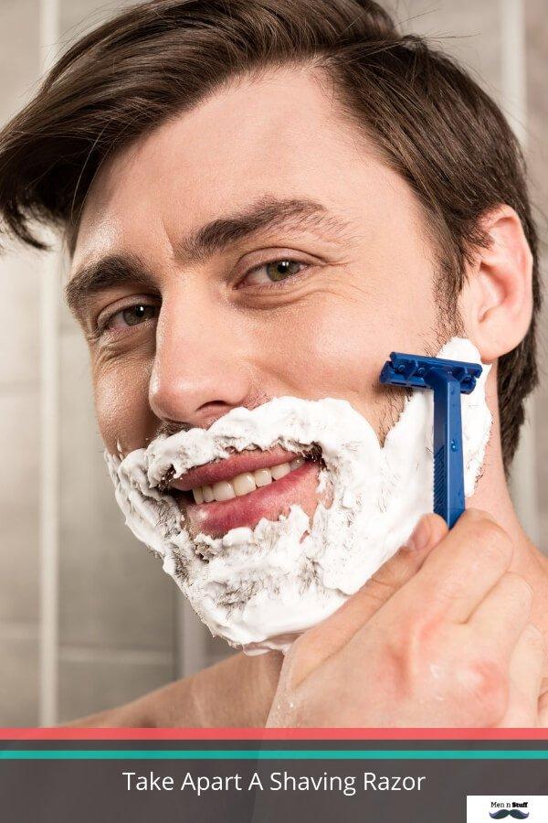 How To Take Apart A Shaving Razor