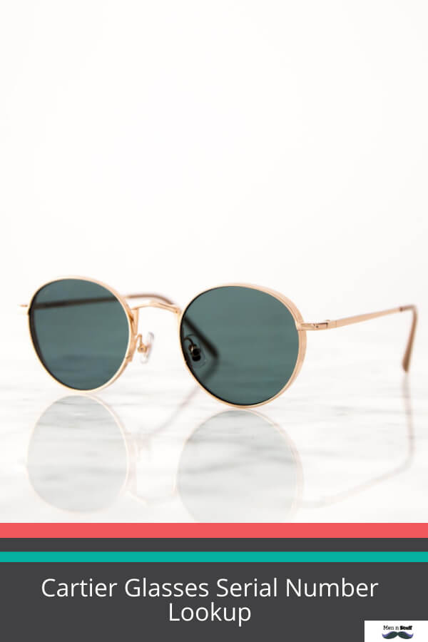 Cartier Glasses Serial Number Lookup