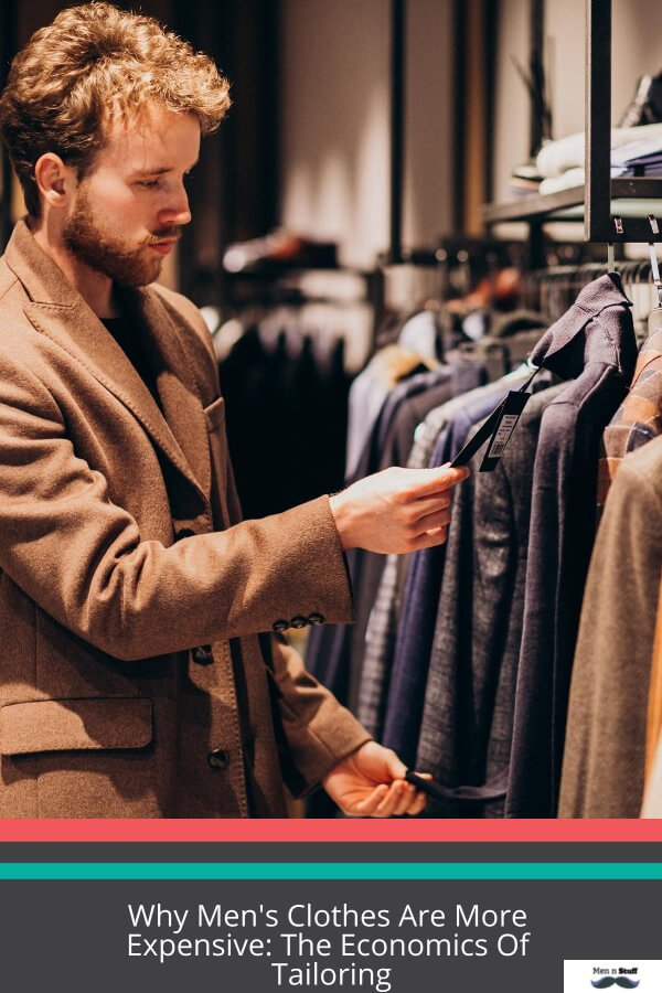 Why Men's Clothes Are More Expensive