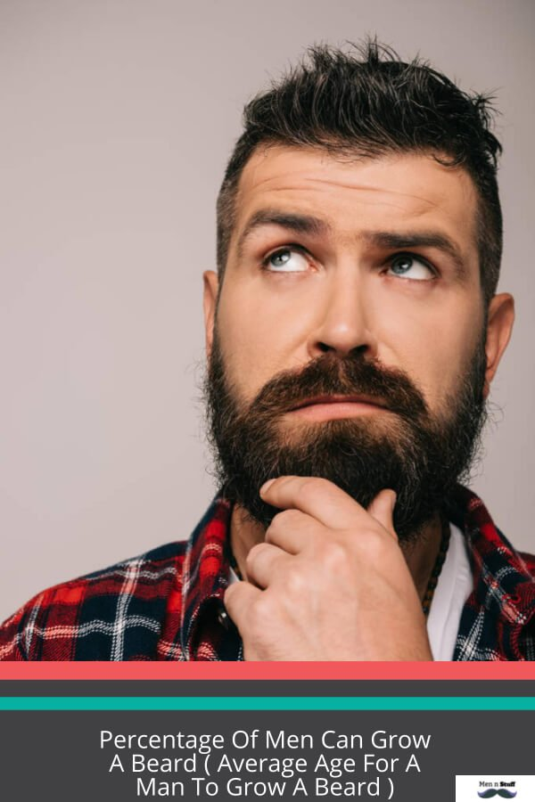 What Percentage Of Men Can Grow A Beard? Average Length Of