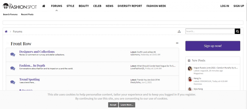 The Fashion Spot Forums